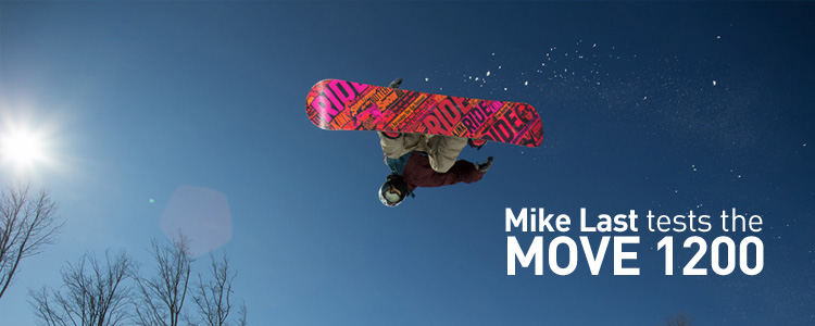 Mike Last - Testing the MOVE 1200 in Mount St. Louis