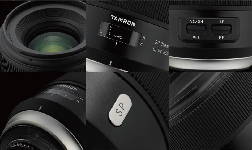 Tamron SP 35mm & SP 45mm